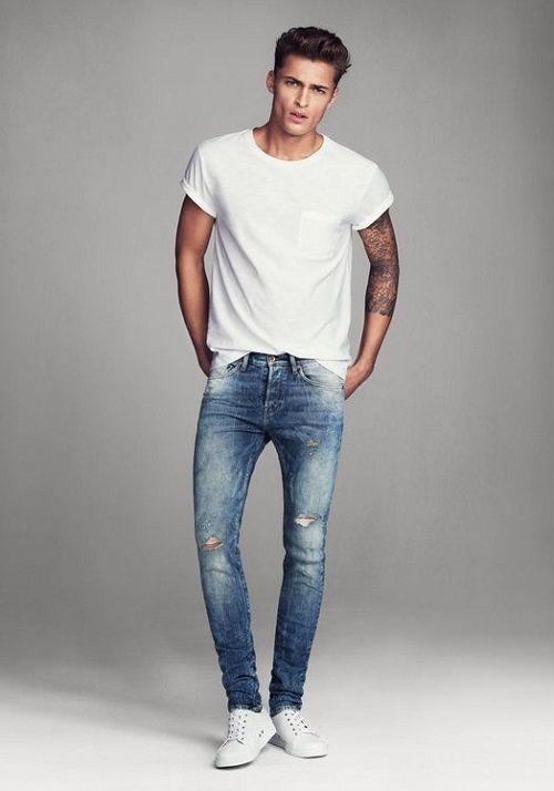 Bí quyết mix đồ cá tính nổi bật với quần jeans nam
